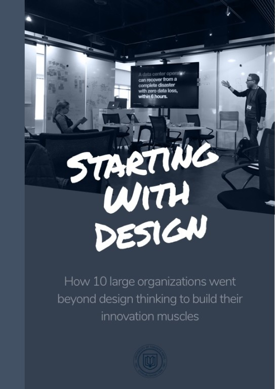 Starting With Design | A book on building design and innovation capabilities